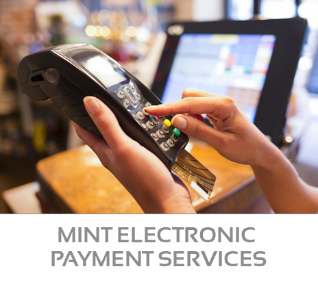 Mint Electronic Payment Processing Service